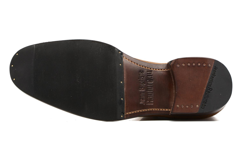 Bottines et boots Jean-Baptiste Rautureau Ron Jodpur Piping Marron vue haut