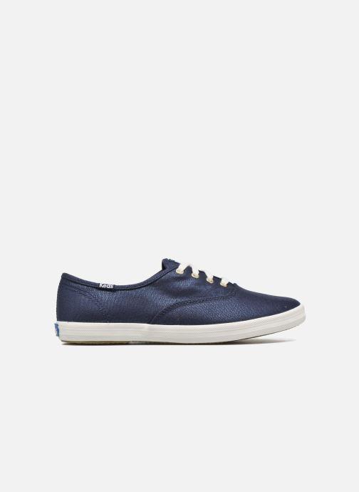 Sneakers Keds Ch Metallic Canvas Azzurro immagine posteriore