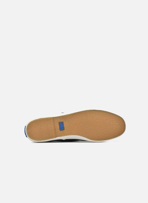 Baskets Keds Ch Metallic Canvas Bleu vue haut