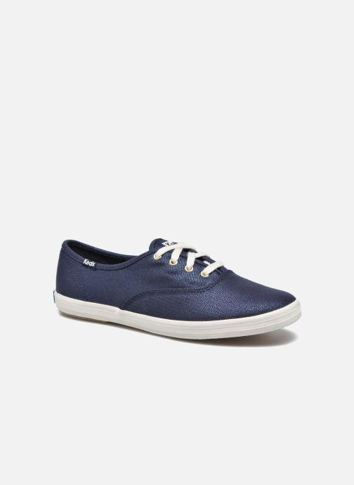 Sneakers Keds Ch Metallic Canvas Azzurro vedi dettaglio/paio