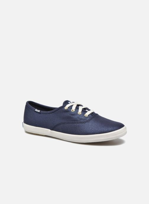 Baskets Keds Ch Metallic Canvas Bleu vue détail/paire