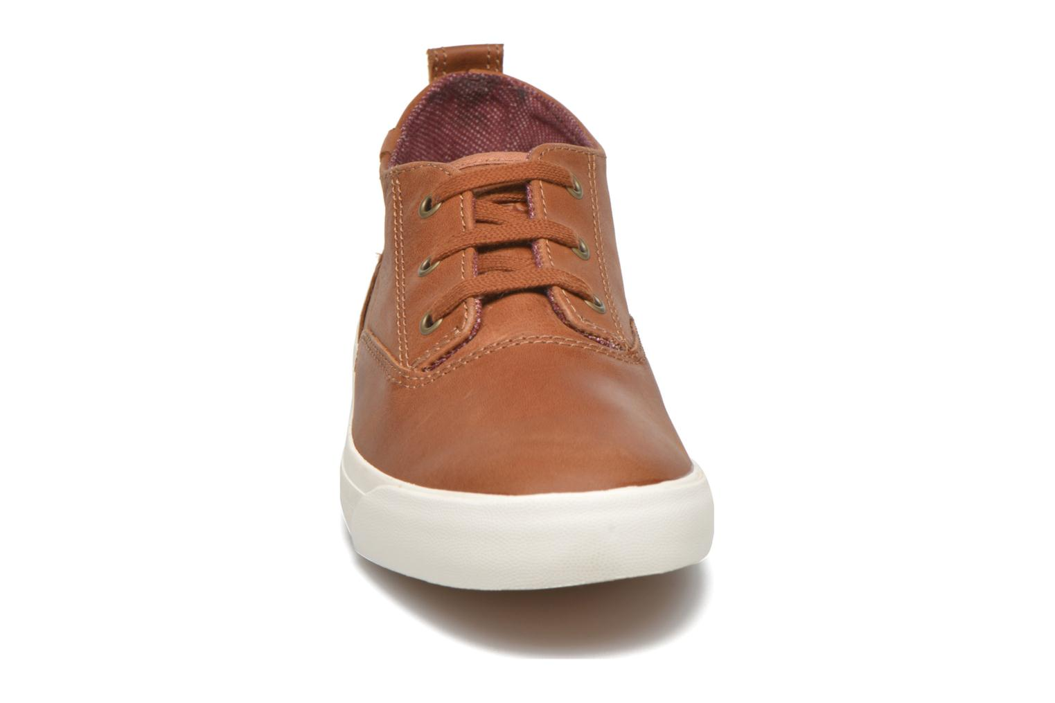 Sneakers Keds Triumph Mid Leather Bruin model