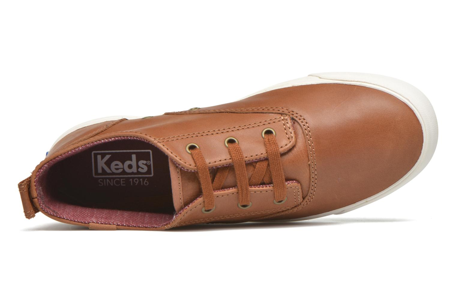 Sneakers Keds Triumph Mid Leather Bruin links