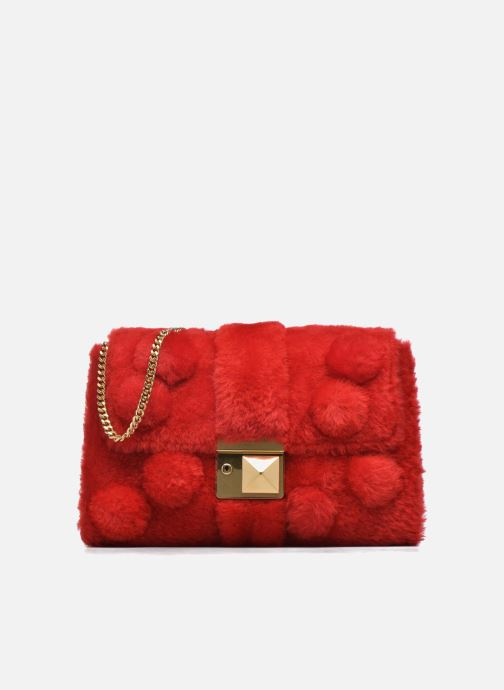 Handbags Sonia Rykiel LE LUCO MATELASSE Porté travers Red detailed view/ Pair view
