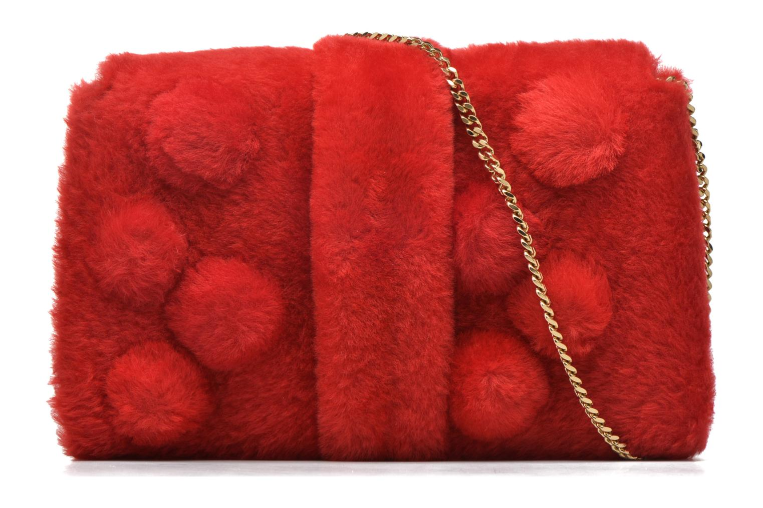 Handbags Sonia Rykiel LE LUCO MATELASSE Porté travers Red front view