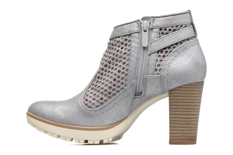 Bottines et boots Mustang shoes Eva Gris vue face