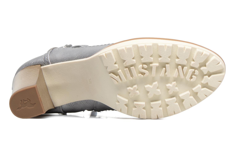 Bottines et boots Mustang shoes Eva Gris vue haut