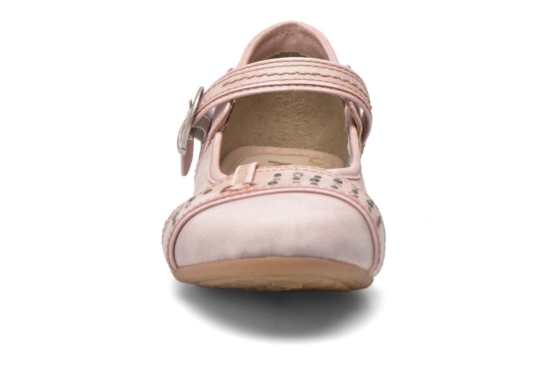 Ballerines Mustang shoes Julietta Rose vue portées chaussures