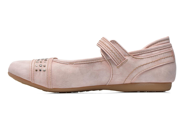 Ballerines Mustang shoes Julietta Rose vue face