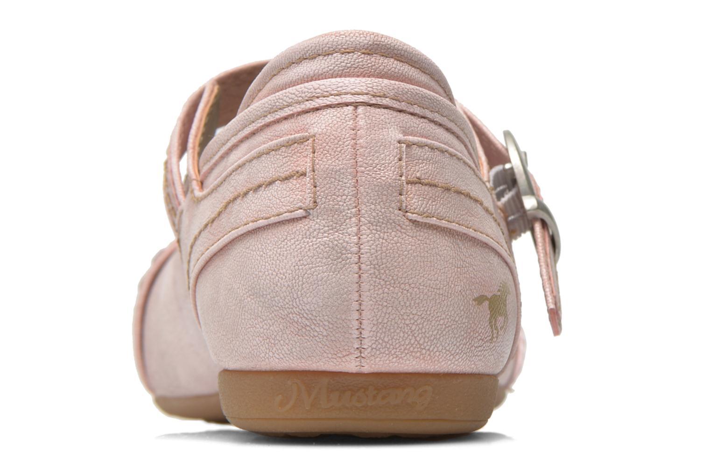 Ballerines Mustang shoes Julietta Rose vue droite