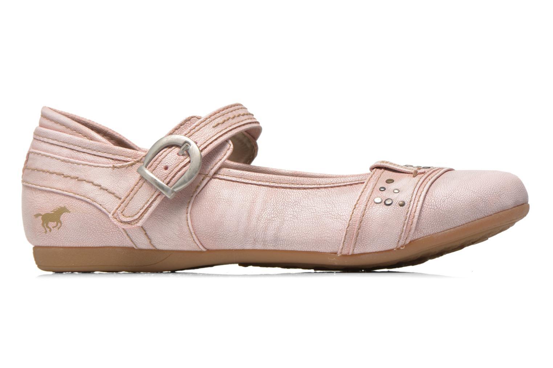 Ballerines Mustang shoes Julietta Rose vue derrière
