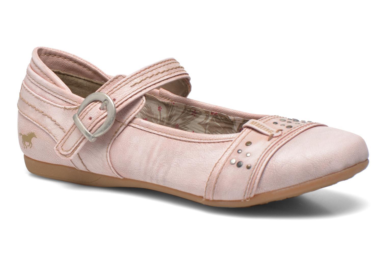 Ballerines Mustang shoes Julietta Rose vue détail/paire