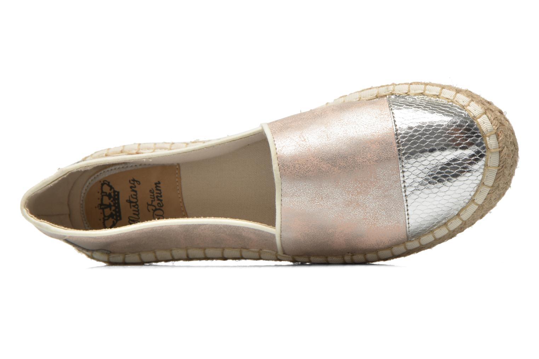 Espadrilles Mustang shoes Juliana rosa ansicht von links