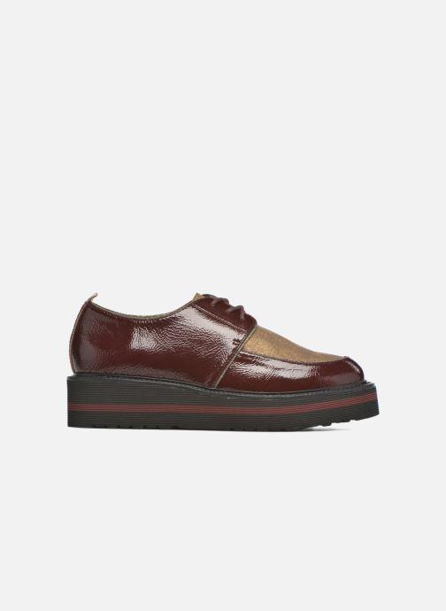 Chaussures à lacets No Name Blow Derby Crease / Skin Bordeaux vue derrière
