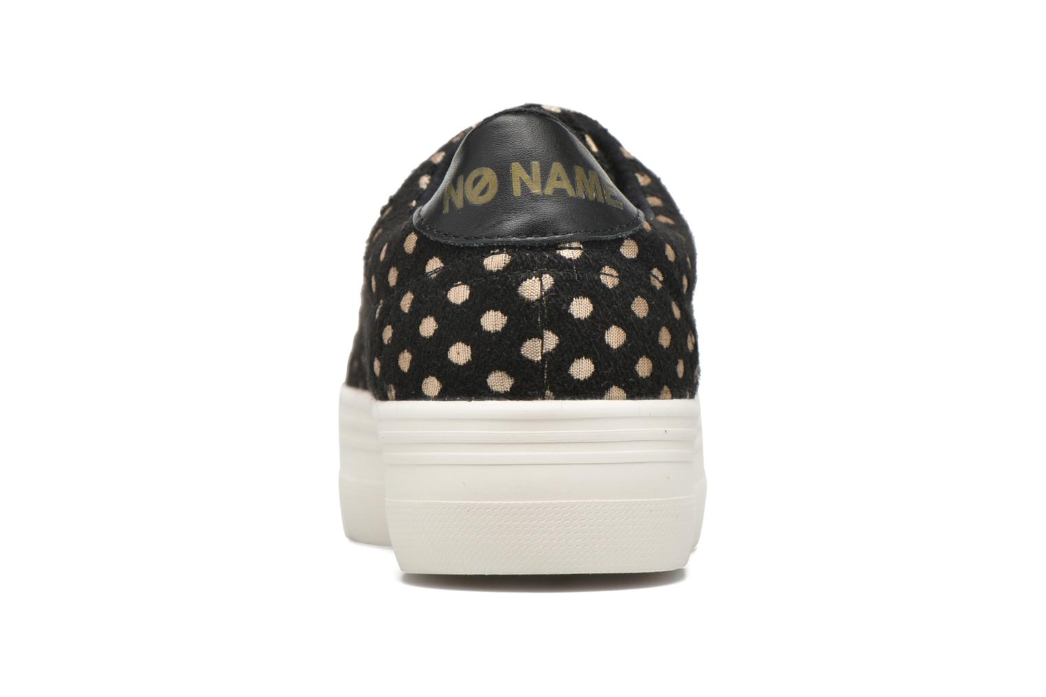 Trainers No Name Plato Sneaker Mary / Nappa Black view from the right