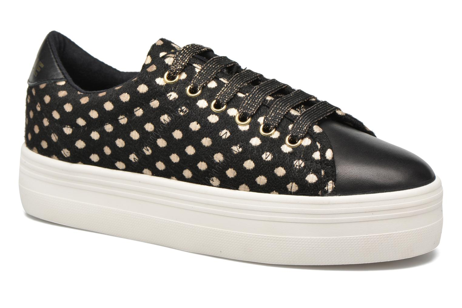 Trainers No Name Plato Sneaker Mary / Nappa Black detailed view/ Pair view