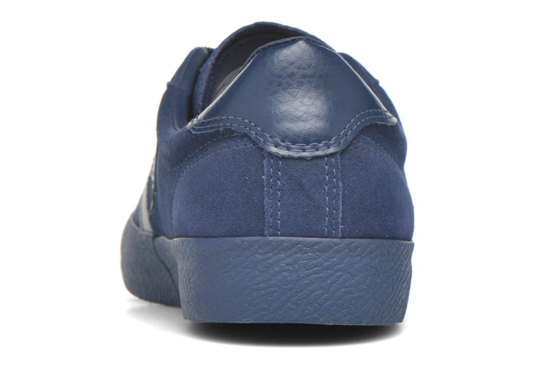 Baskets Converse Break Point Mono Suede Ox Bleu vue droite