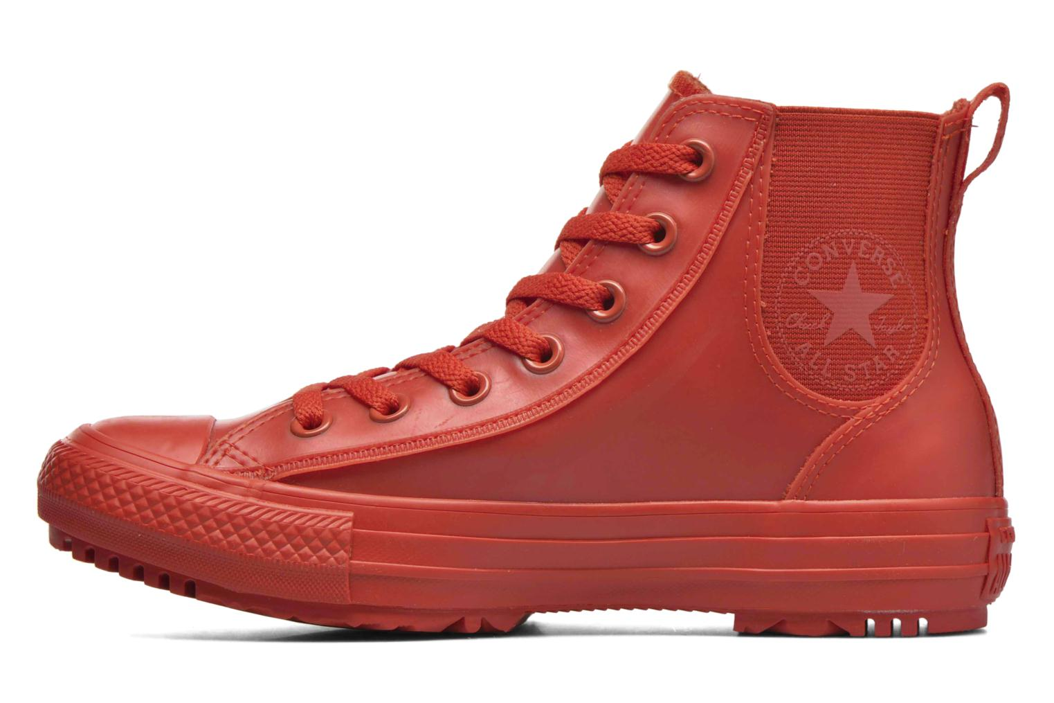 Trainers Converse Ctas Chelsea Boot Rubber Hi Red front view