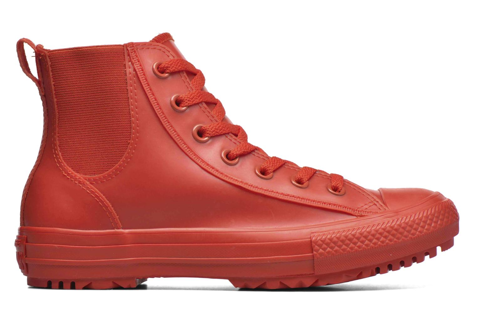 Trainers Converse Ctas Chelsea Boot Rubber Hi Red back view