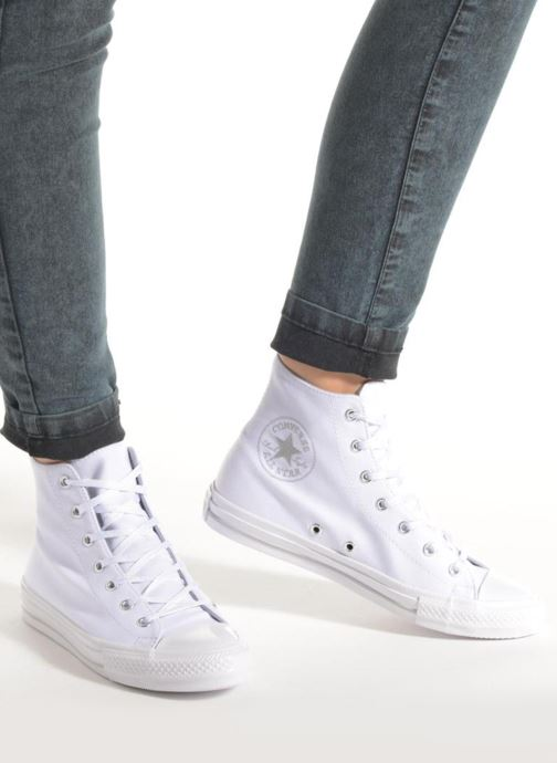 Sneakers Converse Chuck Taylor All Star Gemma Twill Hi Zwart onder
