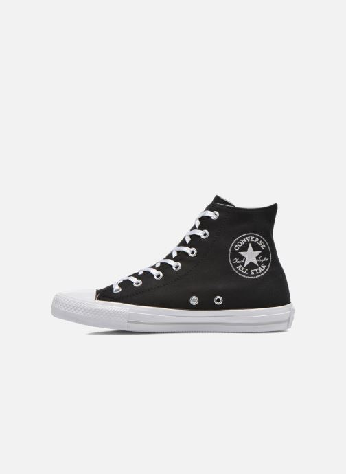Baskets Converse Chuck Taylor All Star Gemma Twill Hi Noir vue face