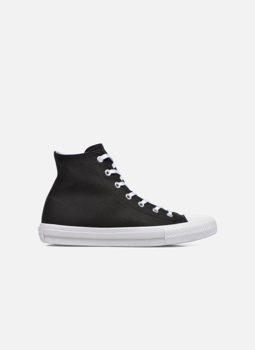 Sneakers Converse Chuck Taylor All Star Gemma Twill Hi Zwart achterkant