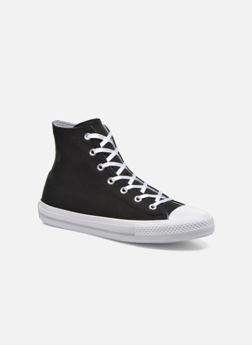 Sneakers Converse Chuck Taylor All Star Gemma Twill Hi Zwart detail