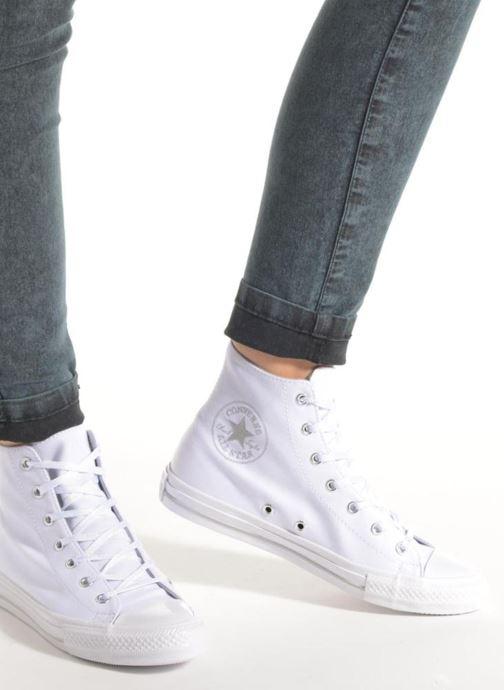 Sneakers Converse Chuck Taylor All Star Gemma Twill Hi Grijs onder
