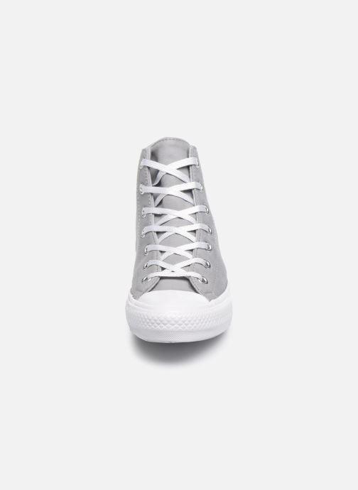 Sneakers Converse Chuck Taylor All Star Gemma Twill Hi Grijs model
