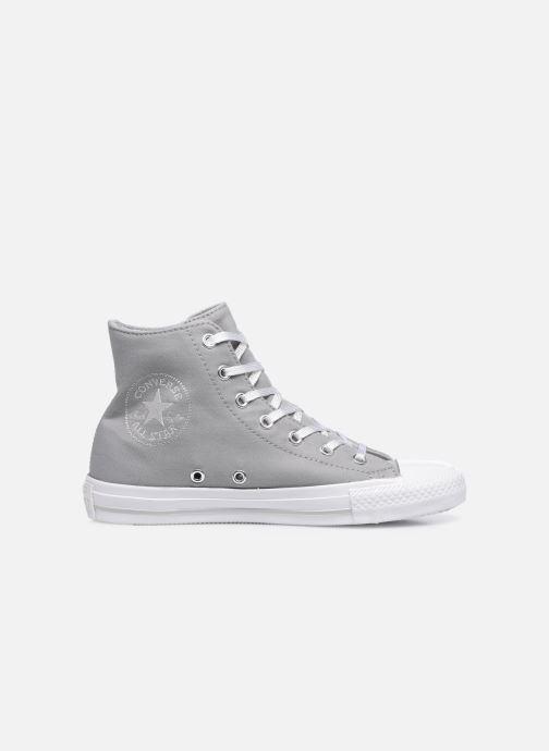 Sneakers Converse Chuck Taylor All Star Gemma Twill Hi Grijs achterkant