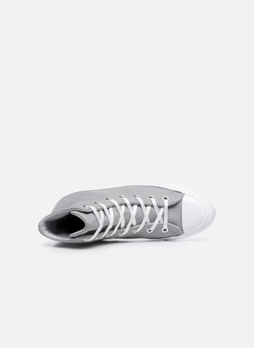 Sneakers Converse Chuck Taylor All Star Gemma Twill Hi Grijs links