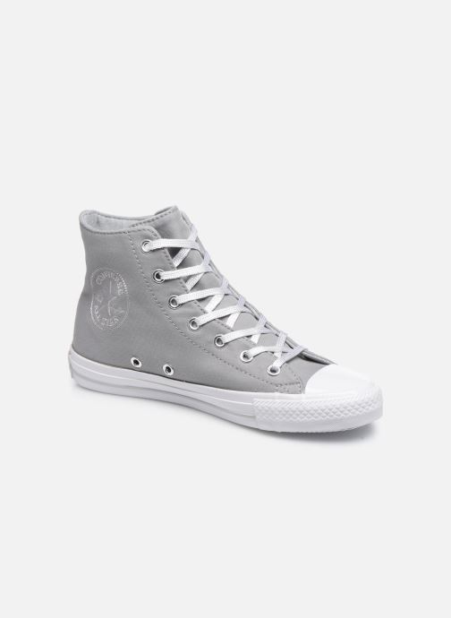Trainers Converse Chuck Taylor All Star Gemma Twill Hi Grey detailed view/ Pair view