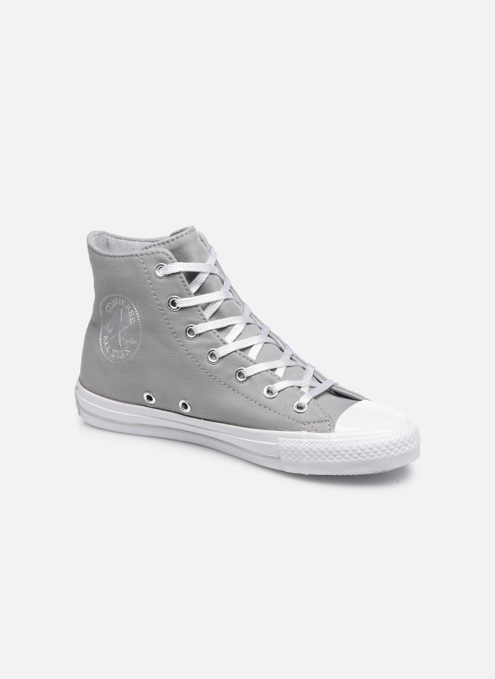 Los últimos zapatos de descuento para hombres y mujeres  Star Converse Chuck Taylor All Star  Gemma Twill Hi (Gris) - Deportivas en Más cómodo f806b8