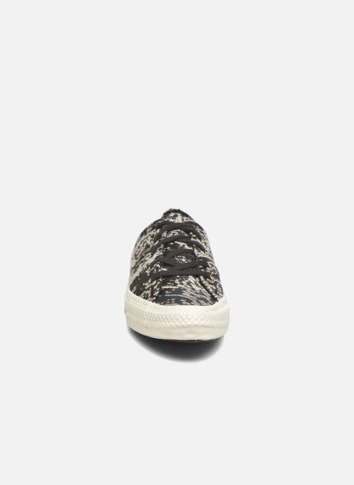 5cd816f40fa1 Baskets Converse Chuck Taylor All Star Gemma Ox Noir vue portées chaussures