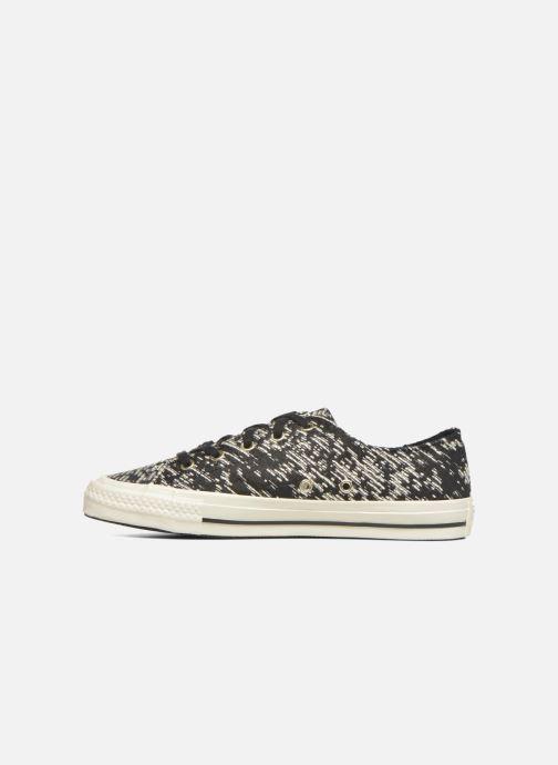 Sneakers Converse Chuck Taylor All Star Gemma Ox Zwart voorkant