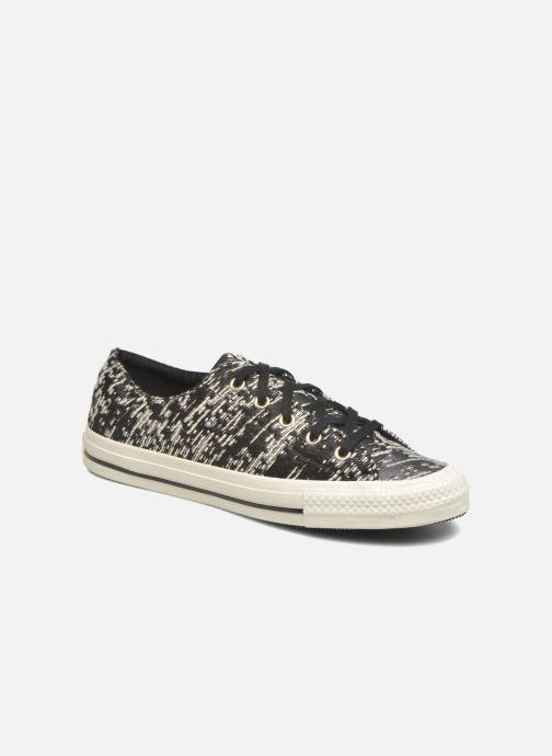 Sneakers Converse Chuck Taylor All Star Gemma Ox Sort detaljeret billede af skoene