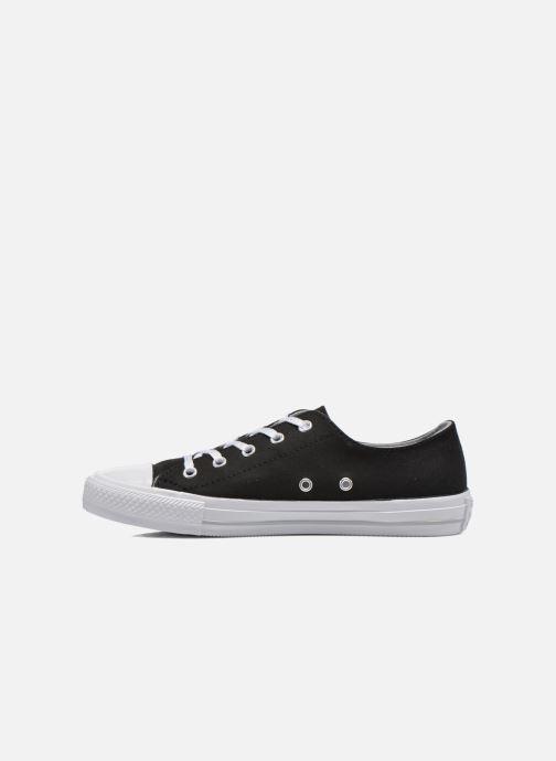 Sneakers Converse Chuck Taylor All Star Gemma Twill Ox Nero immagine frontale