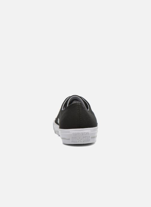 Baskets Converse Chuck Taylor All Star Gemma Twill Ox Noir vue droite