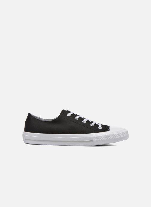 Sneakers Converse Chuck Taylor All Star Gemma Twill Ox Zwart achterkant