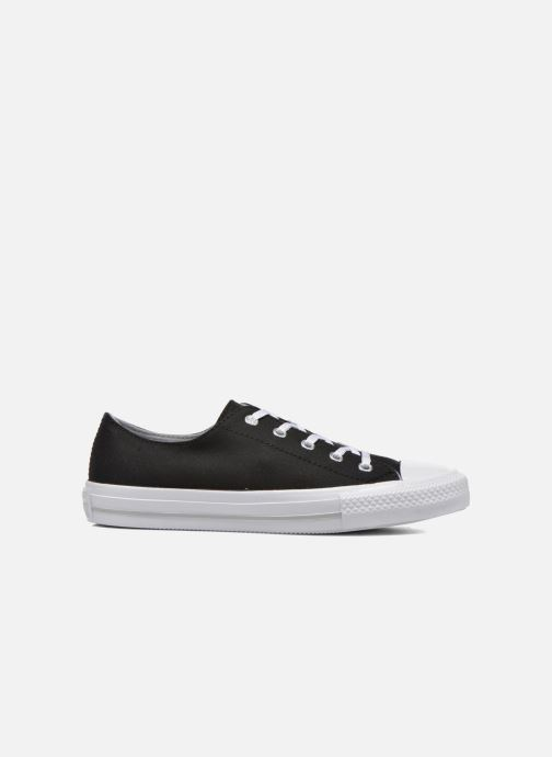 Sneakers Converse Chuck Taylor All Star Gemma Twill Ox Nero immagine posteriore