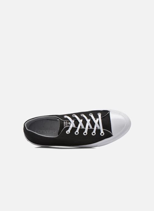 Sneakers Converse Chuck Taylor All Star Gemma Twill Ox Nero immagine sinistra
