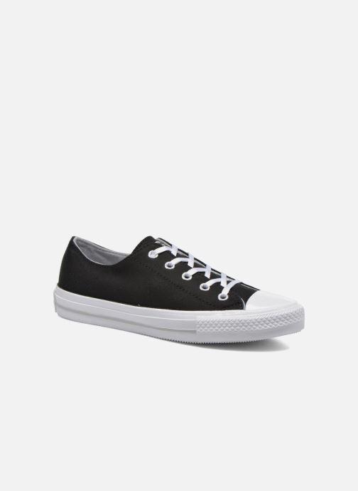 Sneakers Converse Chuck Taylor All Star Gemma Twill Ox Zwart detail