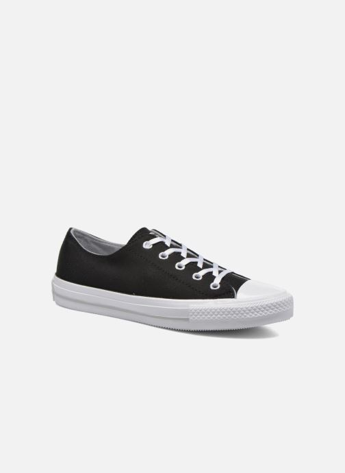 Baskets Converse Chuck Taylor All Star Gemma Twill Ox Noir vue détail/paire