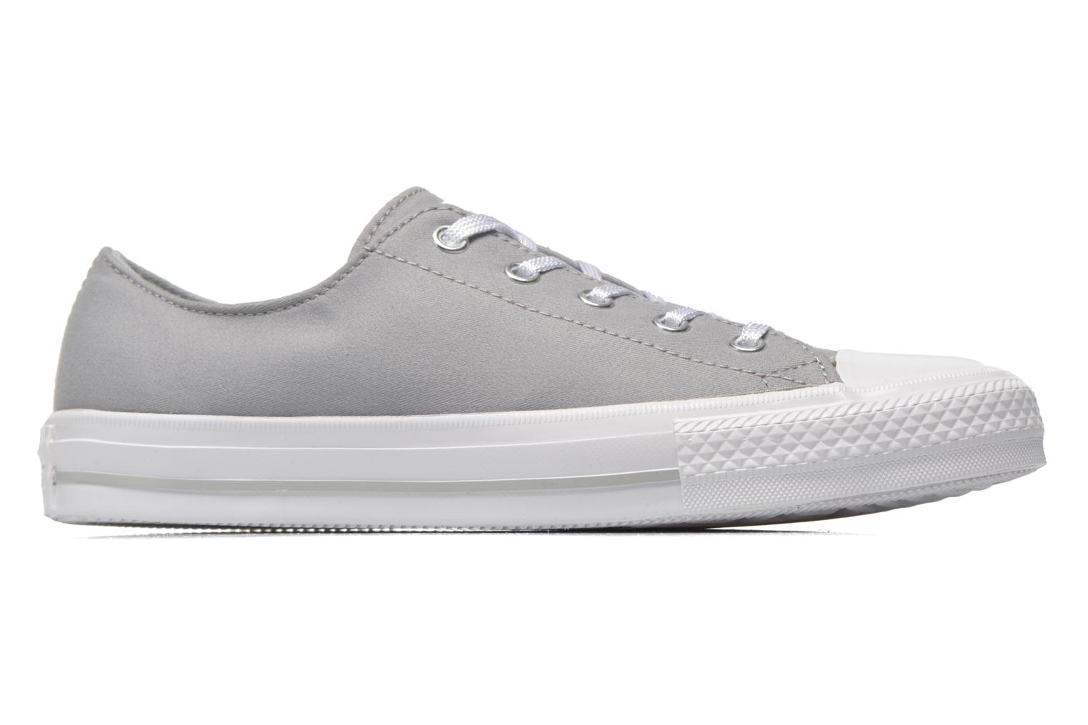 Trainers Converse Chuck Taylor All Star Gemma Twill Ox Grey back view