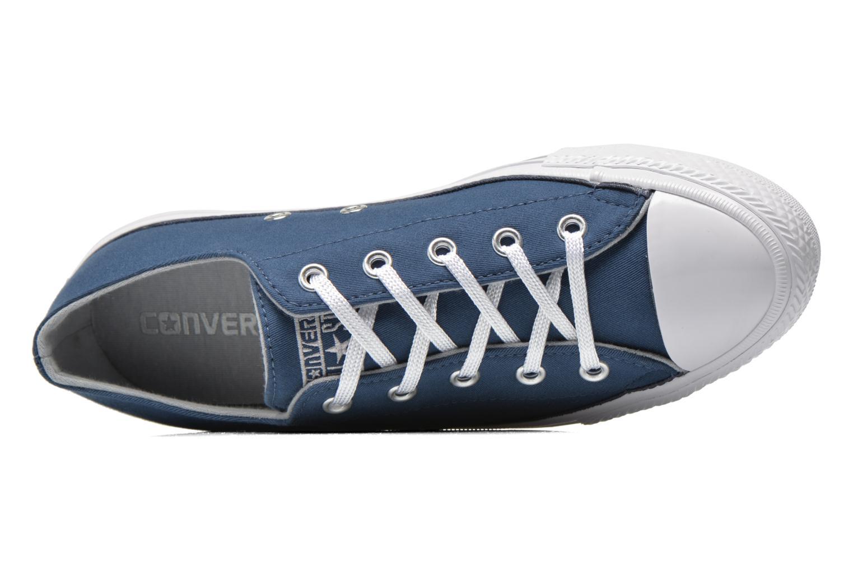 Deportivas Converse Chuck Taylor All Star Gemma Twill Ox Azul vista lateral izquierda