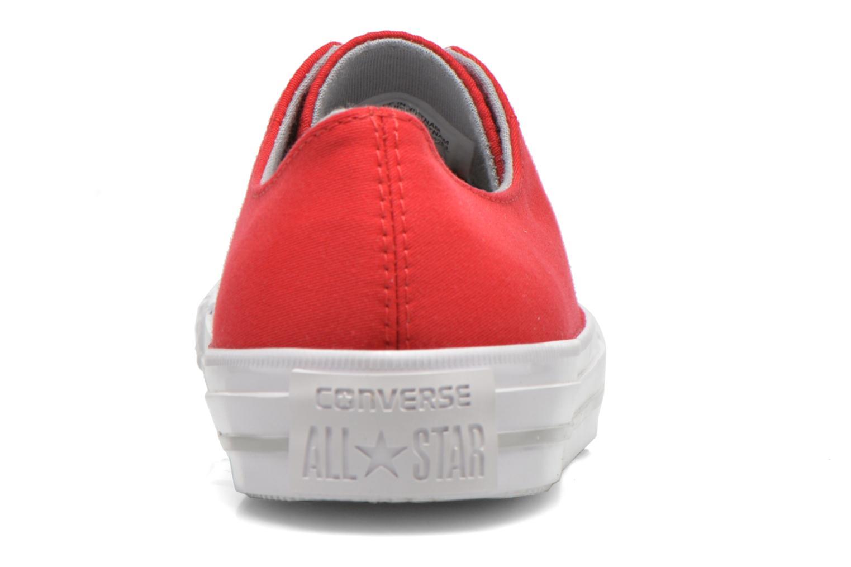 Baskets Converse Chuck Taylor All Star Gemma Twill Ox Rouge vue droite