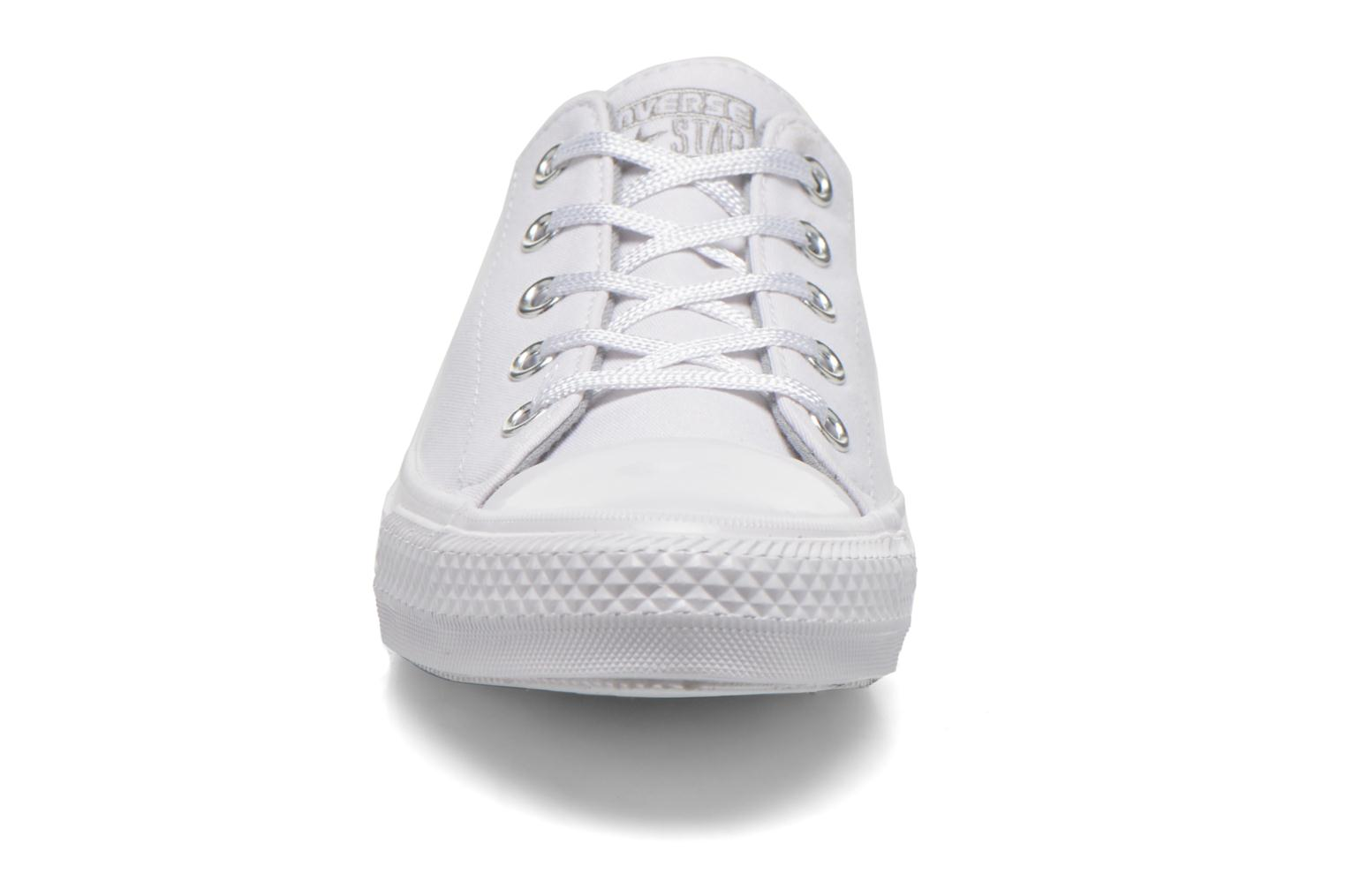 Trainers Converse Chuck Taylor All Star Gemma Twill Ox White model view