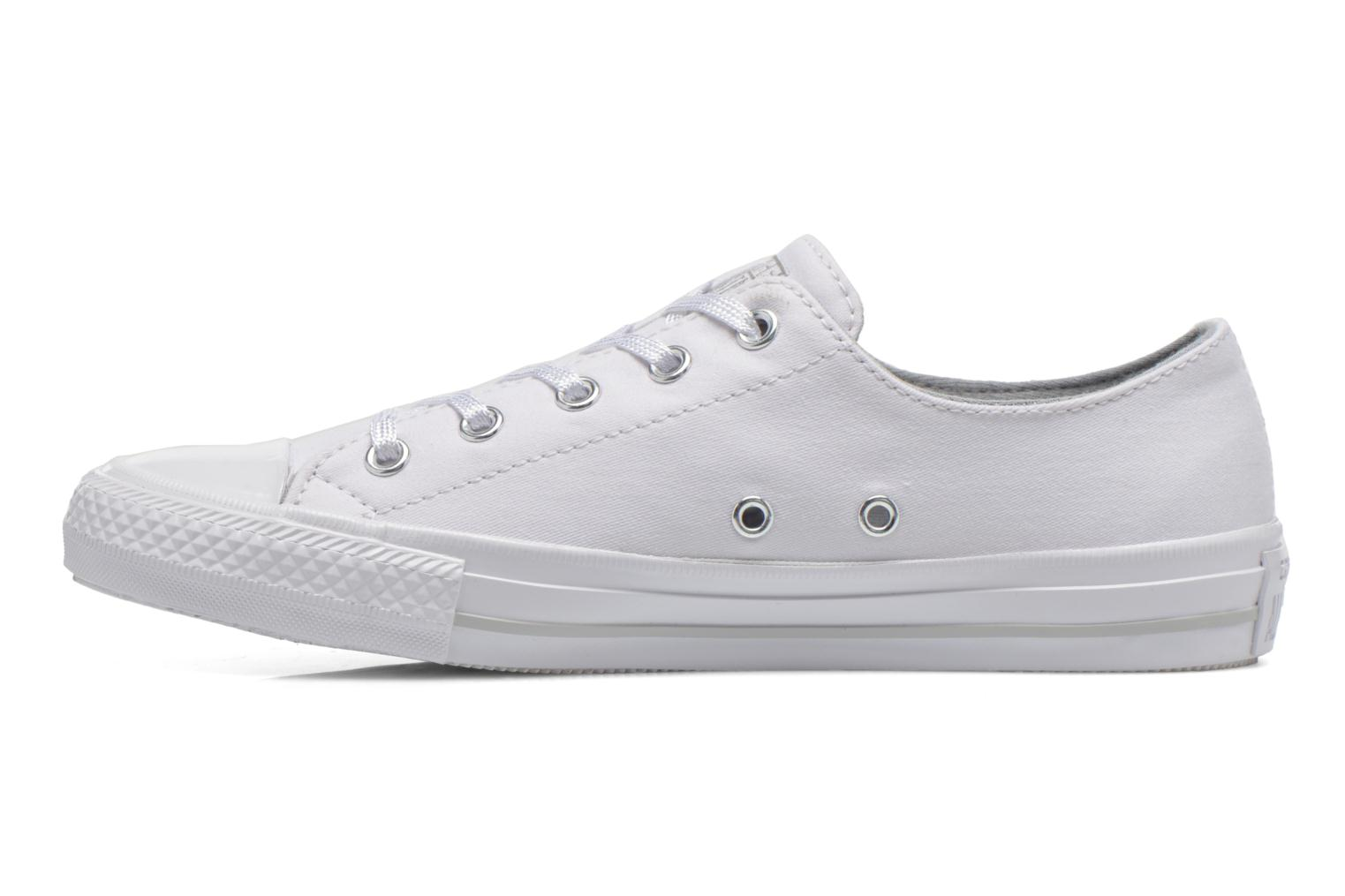 Trainers Converse Chuck Taylor All Star Gemma Twill Ox White front view