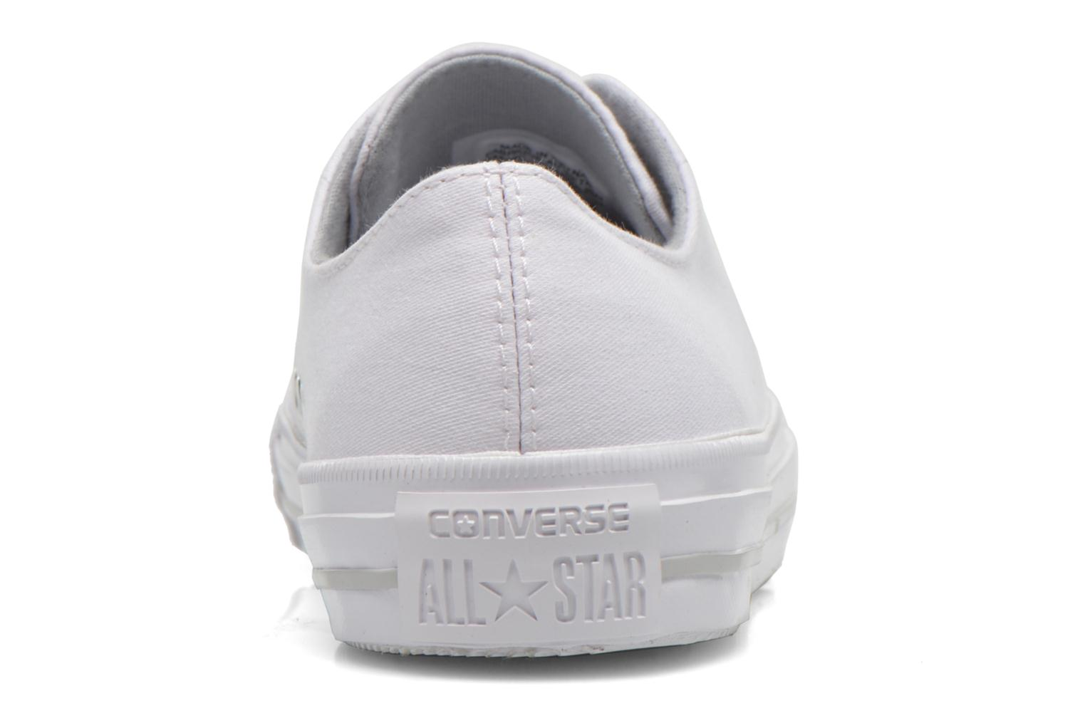 Trainers Converse Chuck Taylor All Star Gemma Twill Ox White view from the right