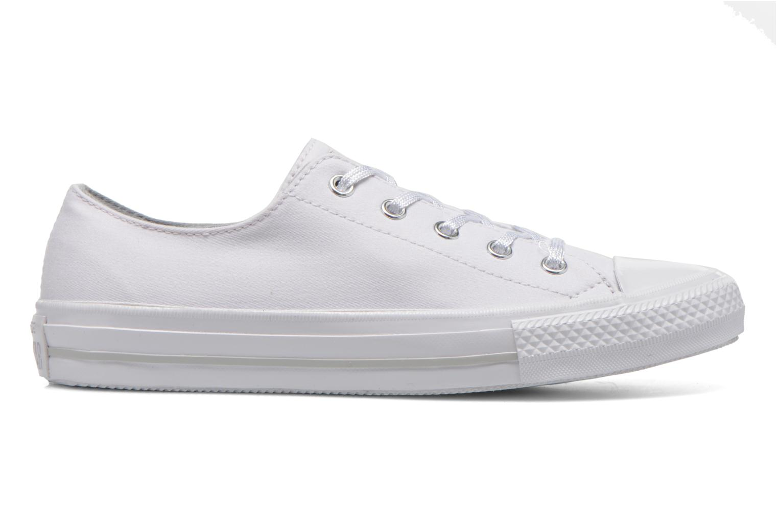 Trainers Converse Chuck Taylor All Star Gemma Twill Ox White back view